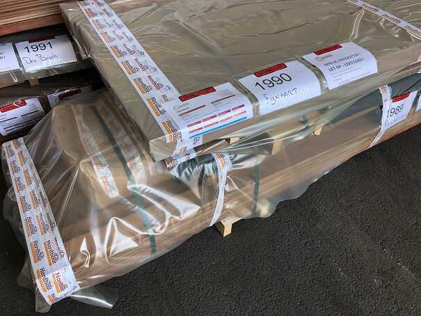 Hardhout pakket