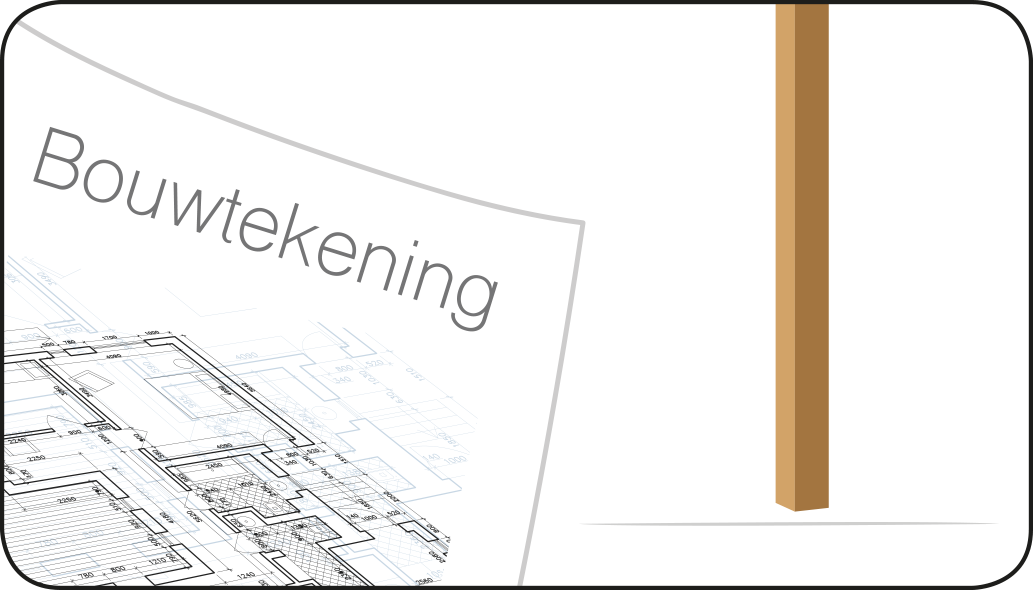 Bouwtekening - Overkapping maken