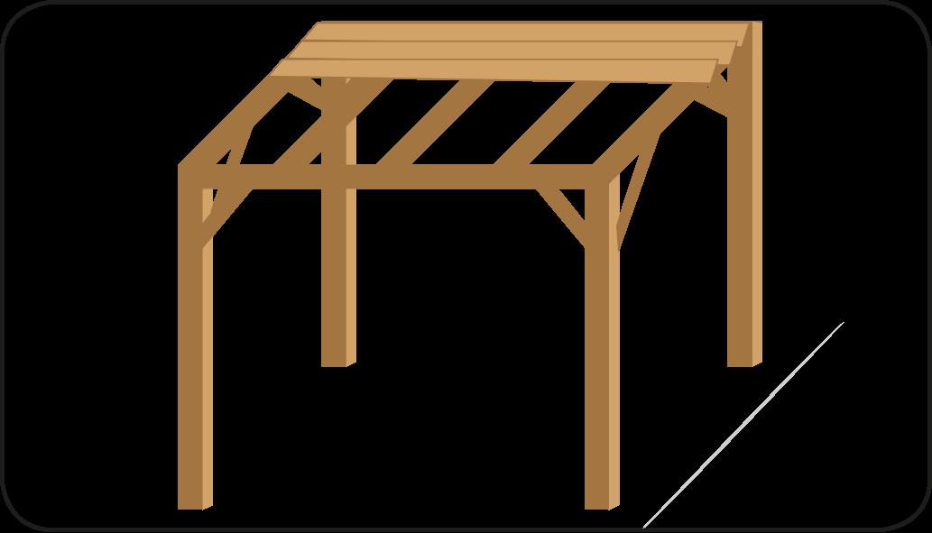 Dakbeschot monteren - Overkapping maken