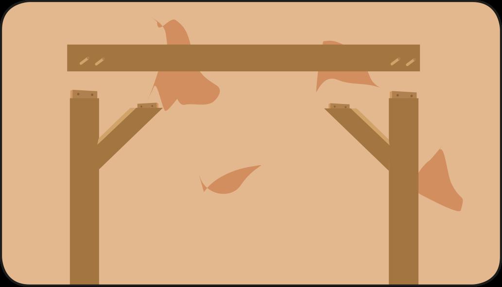 Gebogen schoren - Overkapping maken