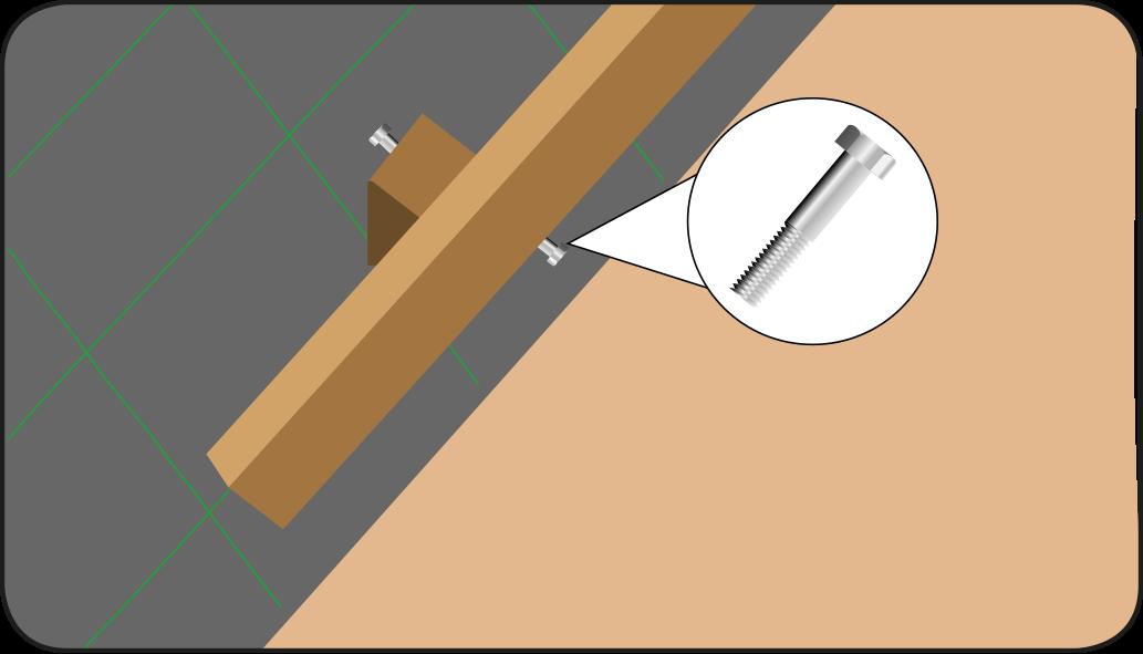 Monteren type 2 - Vlonder maken