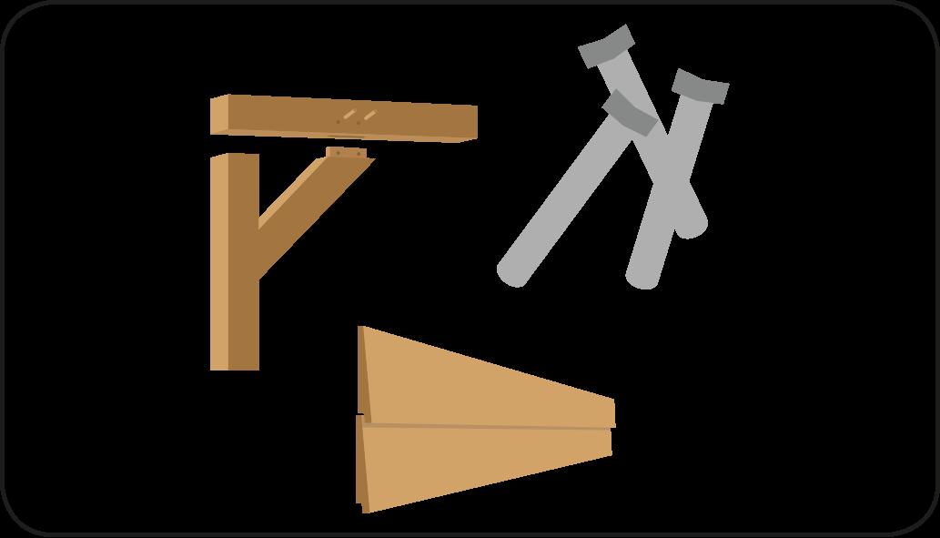 Onderdelen - Overkapping maken