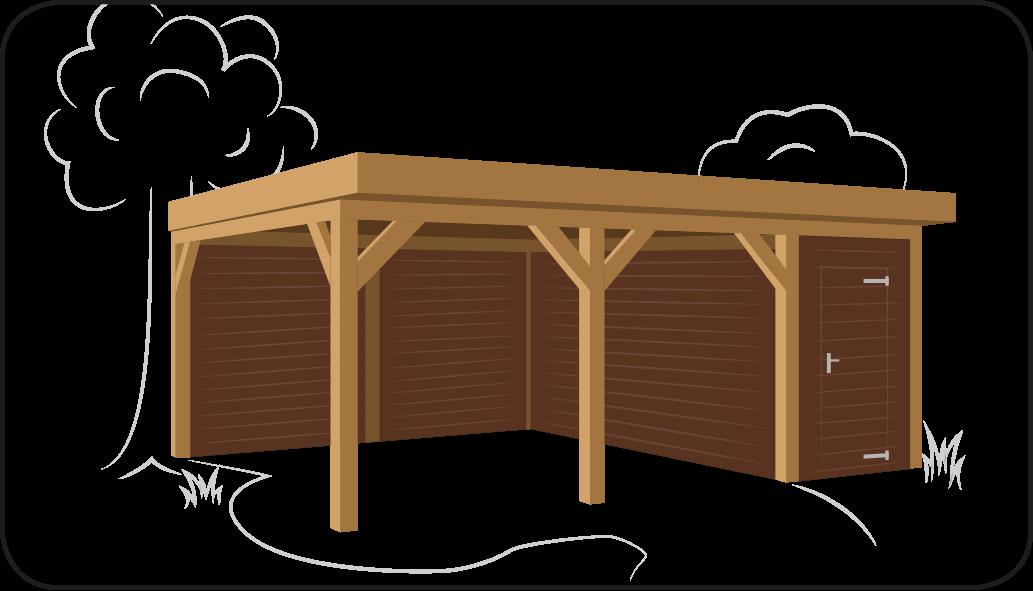 Losse Overkapping Tuin : Zelf een overkapping maken hardhout discount helpt u